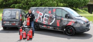 Feuerlöscherprüfung A.RED